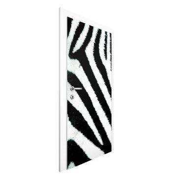 Produktfoto Vliestapete Tür Premium - Zebra Crossing - Türtapete