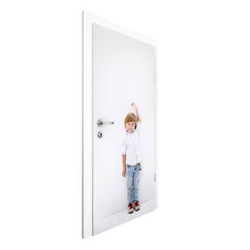 Produktfoto Türtapete selbst gestalten - Ihr Bild als Vliestapete Tür - Wunschbild Tapete