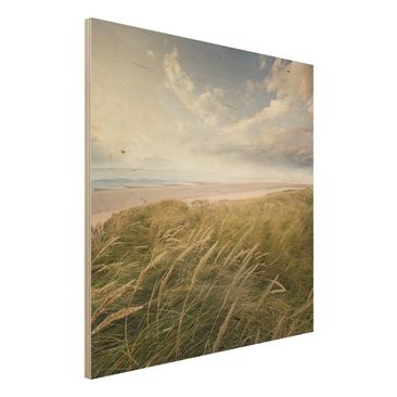 Immagine del prodotto Quadro su legno - Dunes Dream - Quadrato 1:1