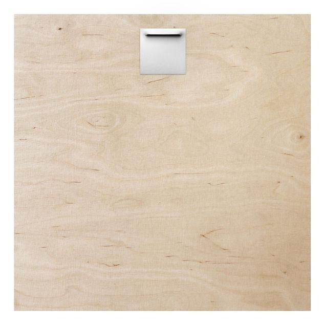 Produktfoto Wandbild Holz - Hexagon Facetten - Quadrat 1:1