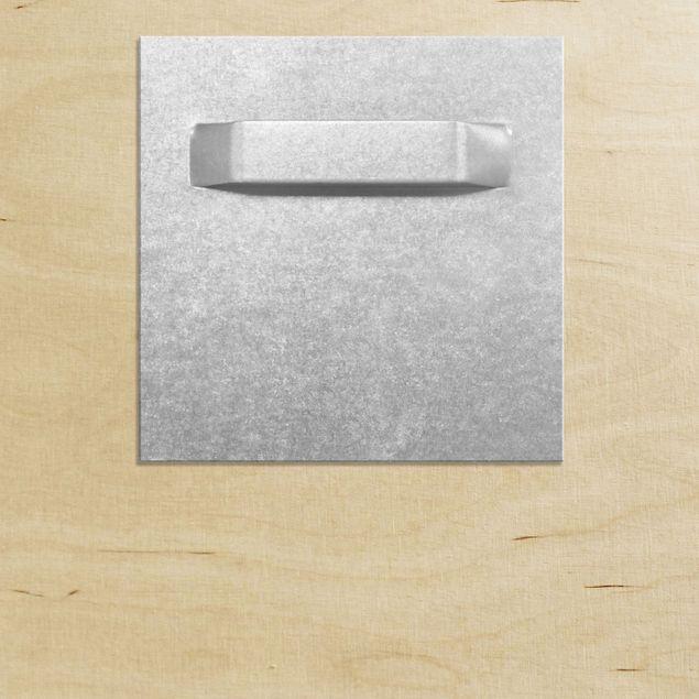 Produktfoto Holzbild - Staring Wildebeest - Quadrat 1:1
