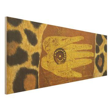 Immagine del prodotto Stampa su legno - African Feelings - Panoramico