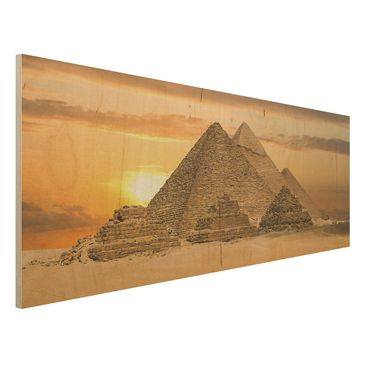 Produktfoto Bild aus Holz - Dream of Egypt - Panorama Quer