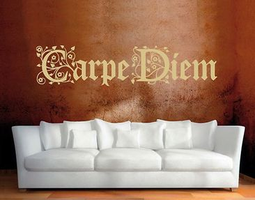 Product picture Wall Decal no.SF129 Carpe Diem