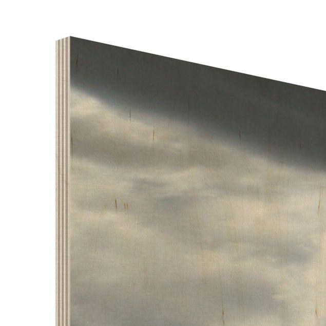 Produktfoto Holz Wandbild - Weg in den Dünen - Panorama Quer