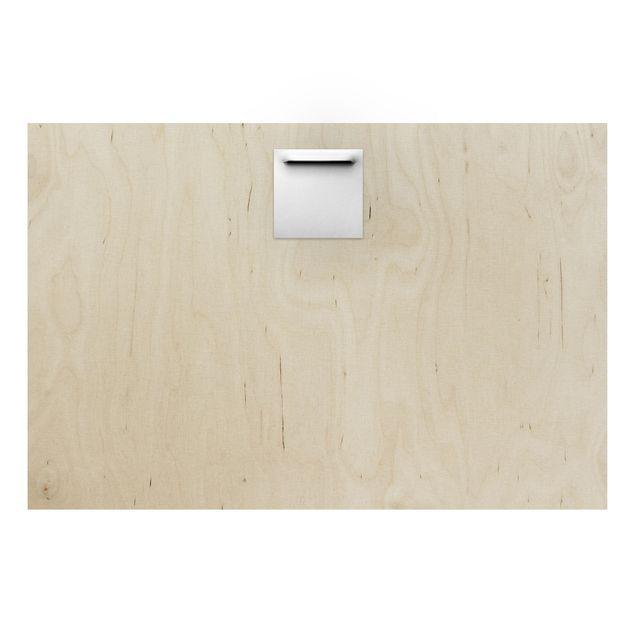 Produktfoto Holz Wandbild - Enlightened Forest -...