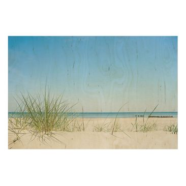 Product picture Wood Print - Baltic Coast - Wide 2:3