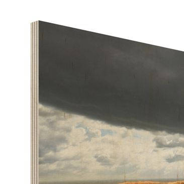 Product picture Wood Print - Pathway Through The Dunes -...