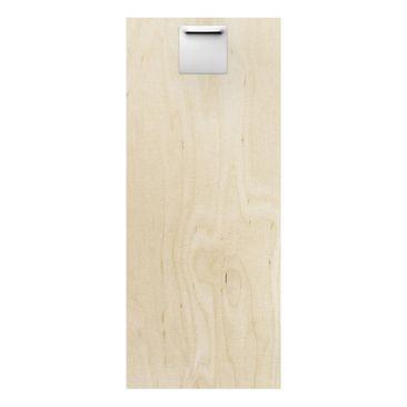 Product picture Wood Print - Circle design - Panorama...