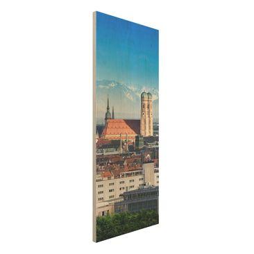 Immagine del prodotto Stampa su legno - Munich - Pannello