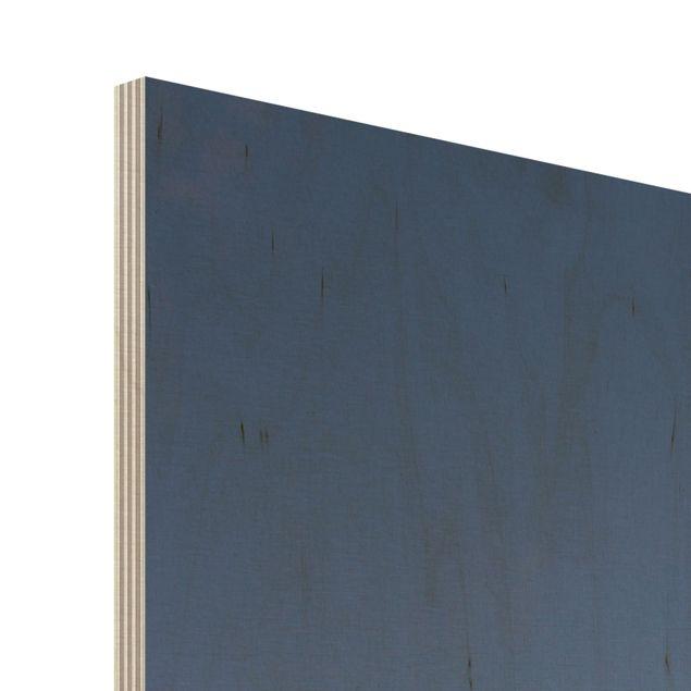 Produktfoto Bild aus Holz - Ort der Ruhe - Panorama Hoch