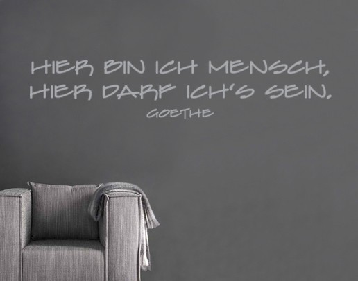 Produktfoto Wandtattoo Zitate - Wandzitate No.SF137...