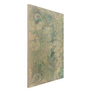 Immagine del prodotto Stampa su legno - Frost Tracery - Verticale 3:2