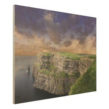 Immagine del prodotto Foto su legno - Cliffs of Moher - Orizzontale 3:4