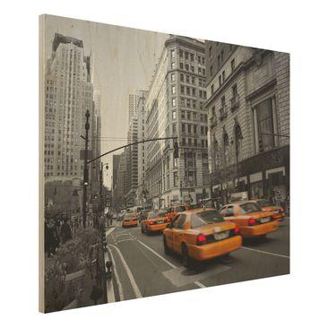Produktfoto Holzbild - New York, New York! - Quer 3:4