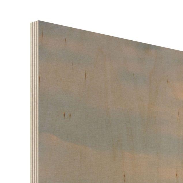Produktfoto Wandbild aus Holz - Prag - Quer 3:4