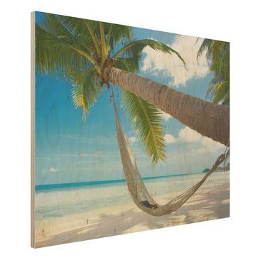 Produktfoto Holzbild - Relaxing Day - Quer 3:4