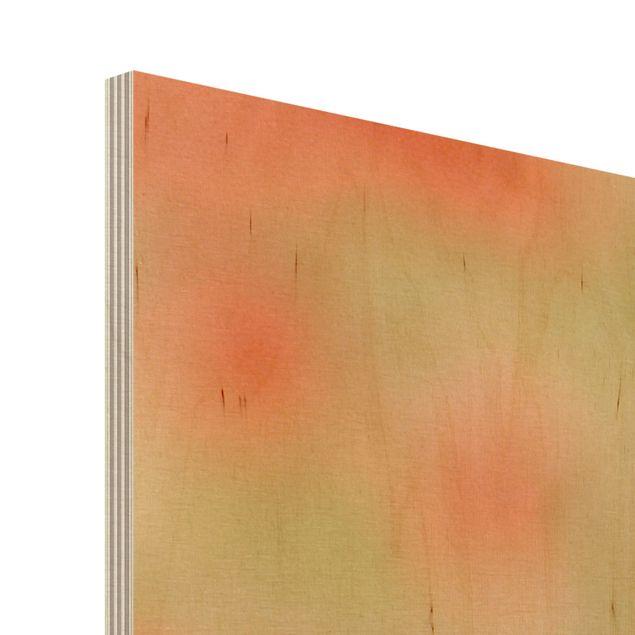 Produktfoto Kunstdruck auf Holz - Summer Poppies - Quer 3:4