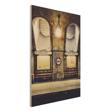 Product picture Wood Print - Baker Street - High 4:3