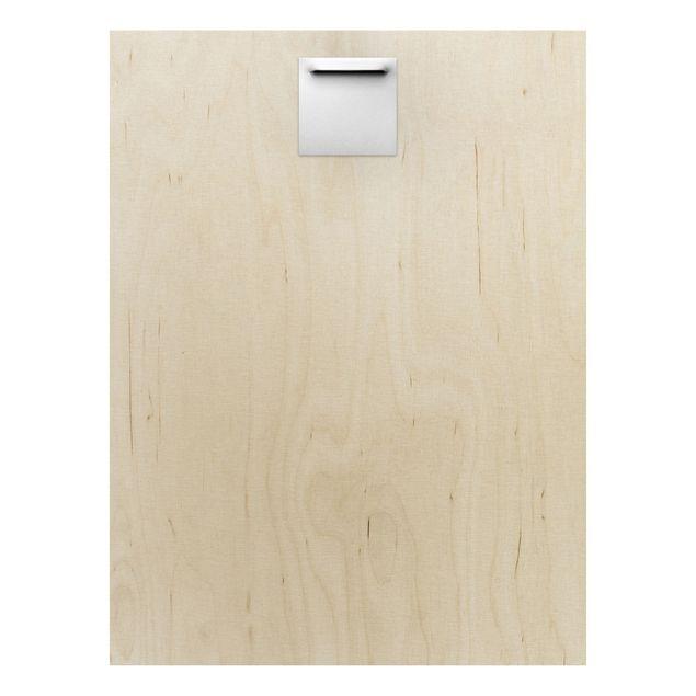 Produktfoto Holz Wandbild - Enlightened Forest - Hoch 4:3