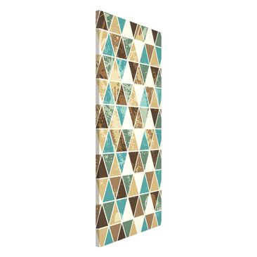 Product picture Magnetic Board - Triangle Repeat Pattern...