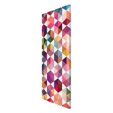 Product picture Magnetic Board - Hexagon Facets -...