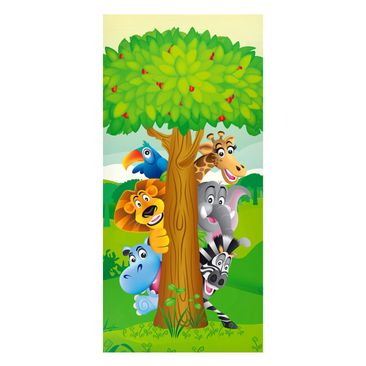 Product picture Magnetic Board - No.BF1 Jungle Animals -...
