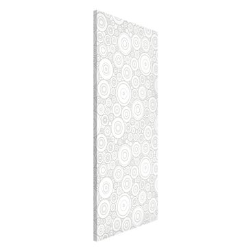 Produktfoto Magnettafel - Sezession White Light Grey - Memoboard Panorama Hoch