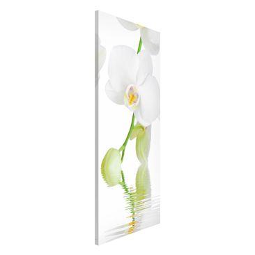 Produktfoto Magnettafel - Wellness Orchidee - Blumenbild Memoboard Panorama Hoch
