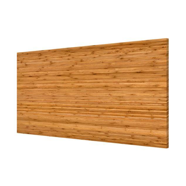 Produktfoto Magnettafel - Bambus - Memoboard Panorama Quer