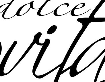 Product picture Wall Decal no.BR132 La dolce vita