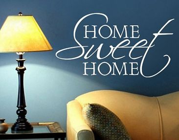 Produktfoto Wall Decal no.BR133 home sweet home