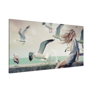 Product picture Magnetic Board - Coffee By The Sea -...
