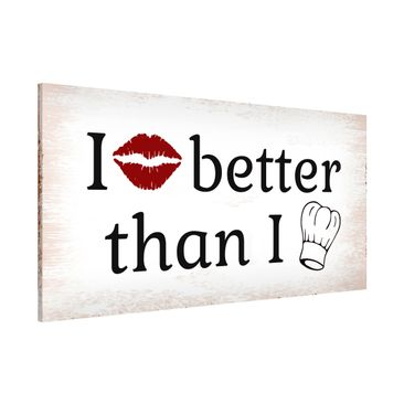 Product picture Magnetic Board - No.KA29 I Kiss Better -...