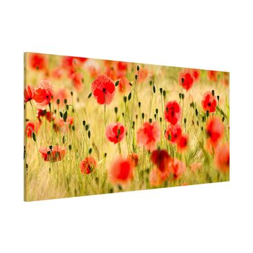 Product picture Magnetic Board - Summer Poppies -...
