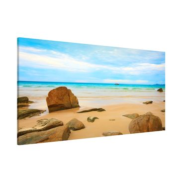 Product picture Magnetic Board - The Beach - Panorama...