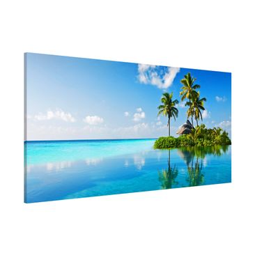 Immagine del prodotto Lavagna magnetica - Tropical Paradise - Panorama formato orizzontale