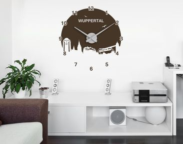 Product picture Wall Decal Clock no.RS170 Wuppertal