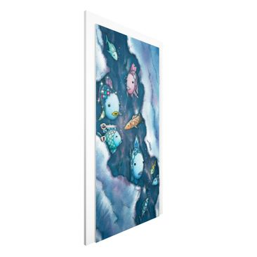 Immagine del prodotto Carta da parati per porte - The Rainbow Fish - Hide! - 215cm x 96cm