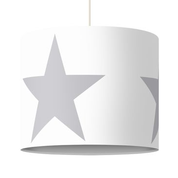Immagine del prodotto Lampadario design Large Gray Stars on White
