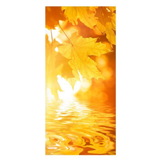 Produktfoto Magnettafel - Autumn Leaves - Memoboard...