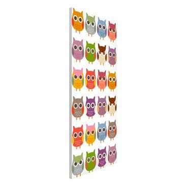 Immagine del prodotto Lavagna magnetica - No.EK147 Owls Parade Set II - Panorama formato verticale