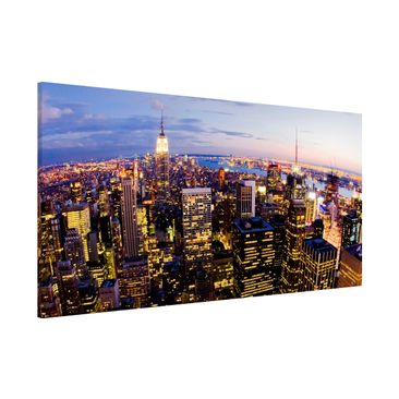 Product picture Magnetic Board - New York Skyline At...
