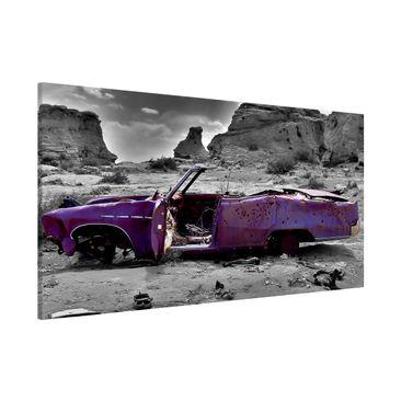 Produktfoto Magnettafel - Pink Cadillac - Memoboard Panorama Quer