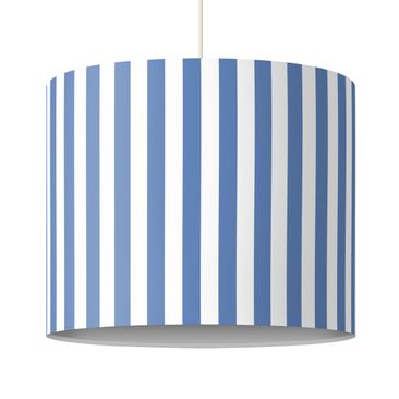 Product picture Design Lamp no.YK44 Stripes Blue White