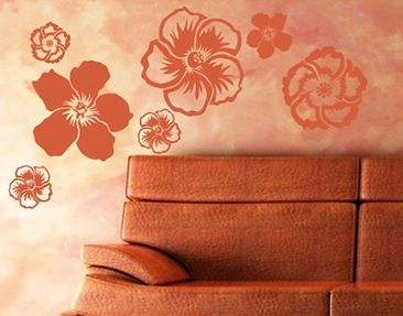 Produktfoto Wall Decal no.UL142 Hibiscus