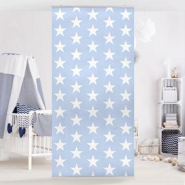 Immagine del prodotto Tenda a pannello White Stars On Blue 250x120cm