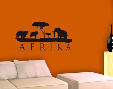 Product picture Wall Decal no.BR168 africa