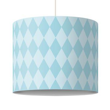 Produktfoto Kinderlampe Raute Blau - Lampe - Lampenschirm Blau