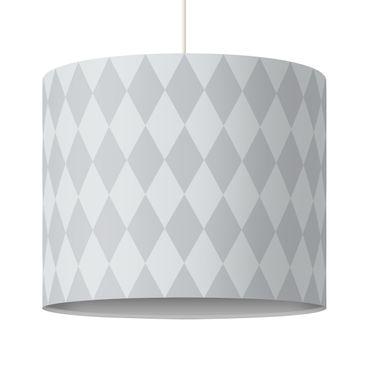 Produktfoto Kinderlampe Raute Grau - Lampe - Lampenschirm Grau